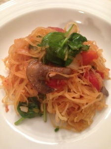 Spaghetti Squash with Veggies